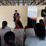Inauguration of the beauty training program in the sector of Balerio Estacio
